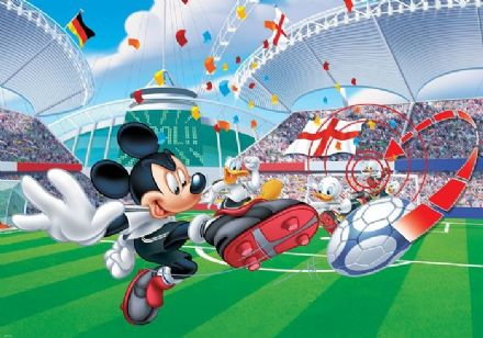 Mickey Mouse Stadium paper wallpaper